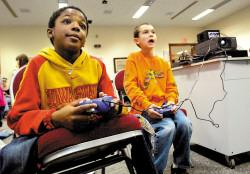 Videogames na biblioteca