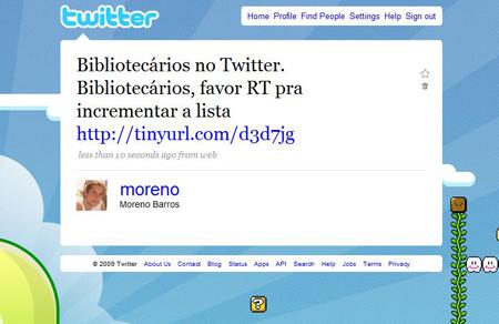 bibliotecários no twitter