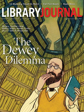 melvin dewey library journal cover