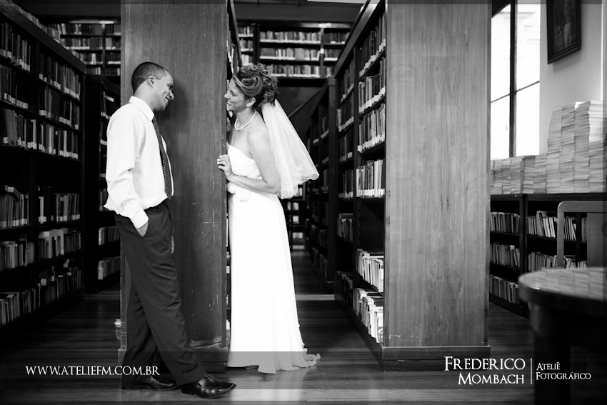 casamento biblioteca