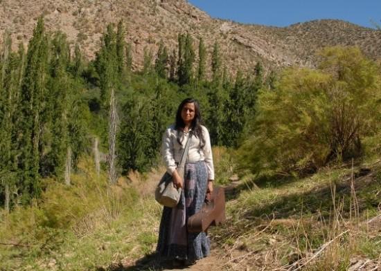 "Cena do filme ""Violeta fue a los cielos"" sobre a vida de Violeta Parra"