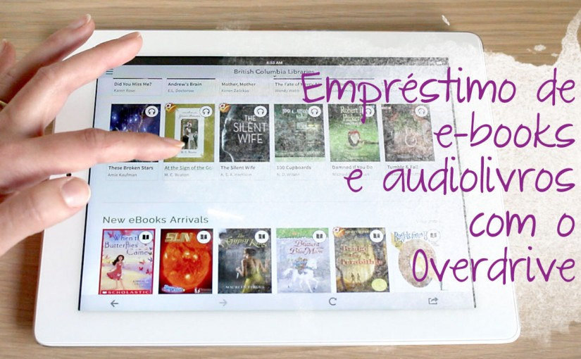 E-books e audiolivros a um clique