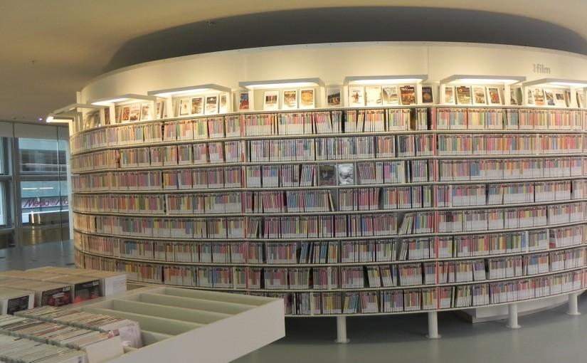 Como eu faço para organizar um acervo de DVDs?