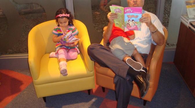 Como incentivar seu filho a ler antes dele aprender a ler