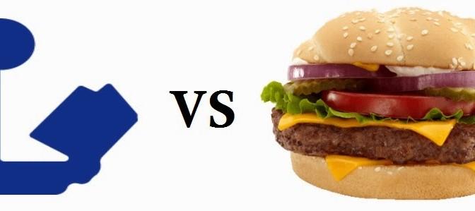 McDonalds vs. Bibliotecas