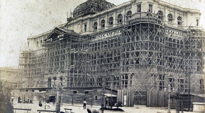 Construção e reconstrução da Biblioteca Nacional