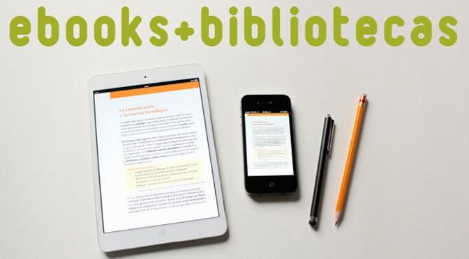 Ebooks + bibliotecas = curso presencial no Rio de Janeiro