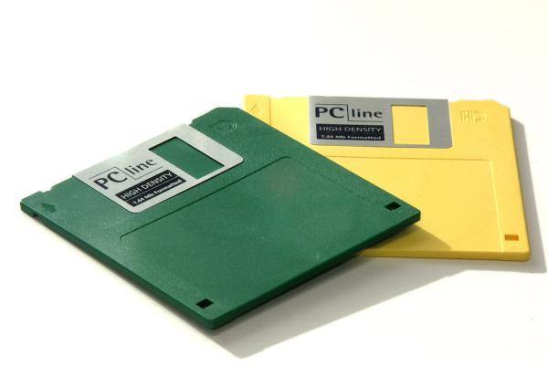 O que fazer com disquetes velhos