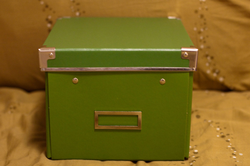 A caixinha verde de Pandora